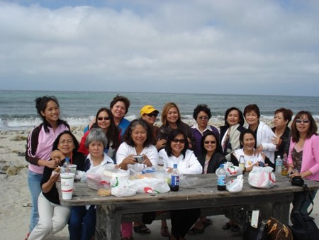 STC Cebu HS '73 Reunion in 2005, Monterey, CA excursion (photo courtesy of Firelli Alonso-Caplen)