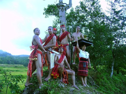 IFUGAO MUSIC & DANCE ENSEMBLE OF BANAUE - The Ifugao Tree