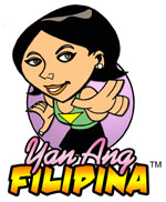 Yan Ang Filipina - Shape the Filipina Image Campaign, logo created & donated by Jonas Diego