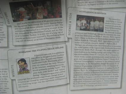 A photo of the Manila Bulletin's news entry - photo provided by Noemi Dado