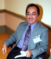 Larry Formalejo in November 2007, San Francisco, CA - photo by Elmer Dolera, edolera@comcast.net