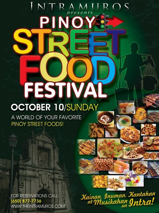 Pinoy Street Food Festival at Intramuros Restaurant, South San Francisco, California
