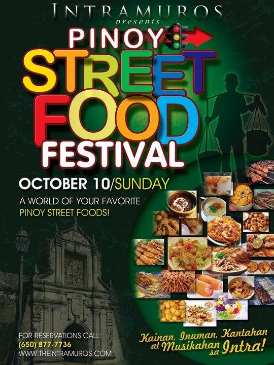 Pinoy Street Food Festival at Intramuros Restaurant, South San Francisco, California