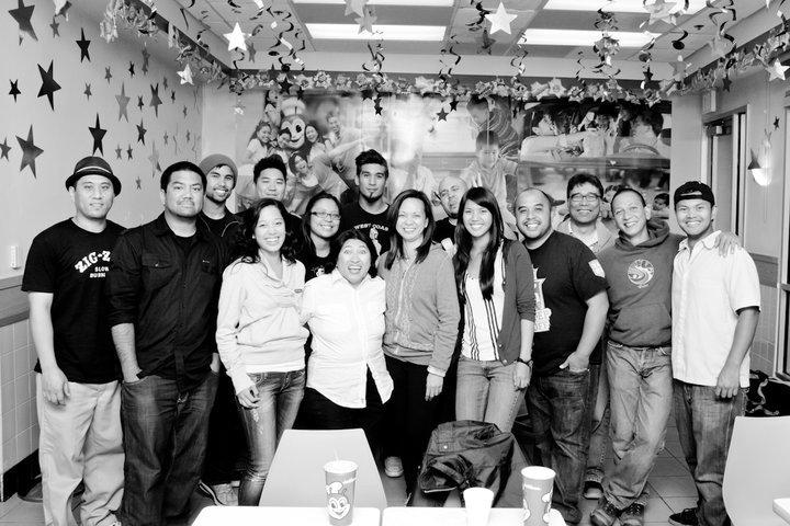 Pusong Pinoy sa Amerika - Cast & Crew After a Hard Day at Work