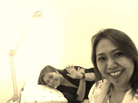 My sister, Dr. Belen Lardizabal Dofitas, dermatologist extradordinaire